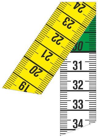Centimetre ruban muticolore pas cher