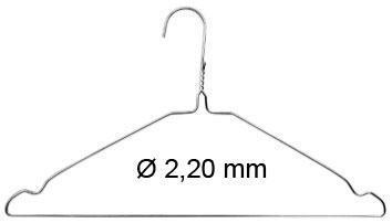 Cintre métal standard galvanisé par 900