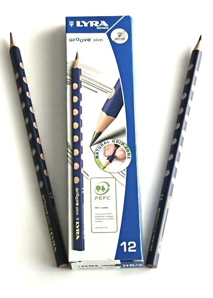 Crayon a papier ergonomique de qualite