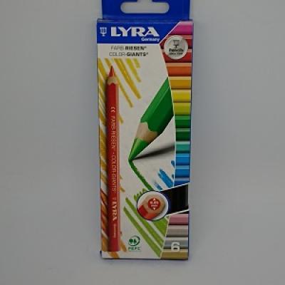 Crayon lyra géant assortie