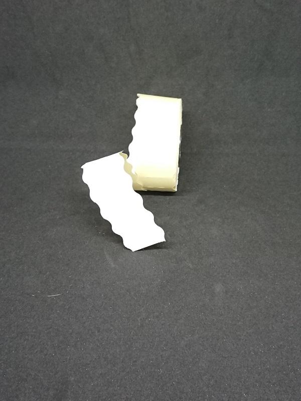 Etiquette 26x12 blanche repositionnable