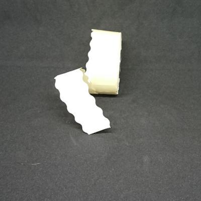 Etiquette 26x12 blanche permanent
