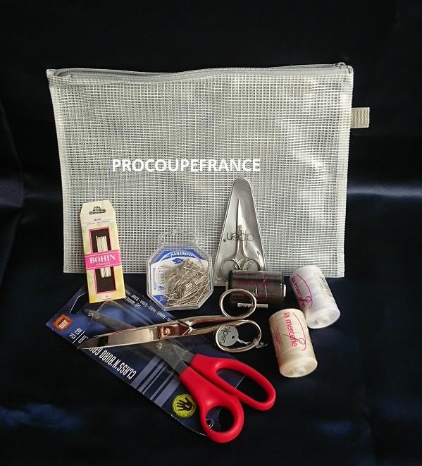 Pack ou kit de couture pour les ecoles de mode