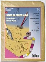 PAPIER A PATRON 100CM  X 150CM 3 FEUILLES