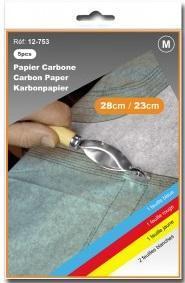 PAPIER CARBONE 28CMX23CM
