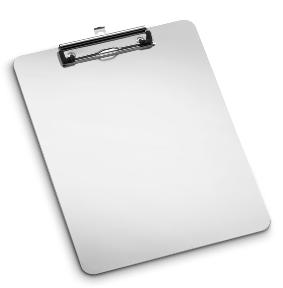 Porte document aluminum