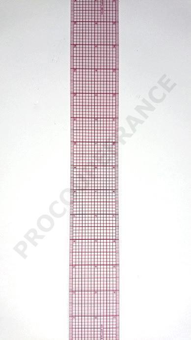 Regle souple 50cm marquage simple