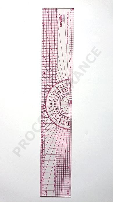 Regle souple graduee 30cm largeur 5cm