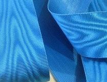 Ruban moire turquoise