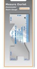 Somometre ou mesure orlet aluminium