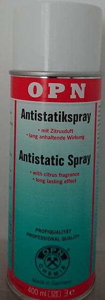 Spray antistatique professionnel
